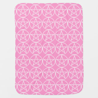 Pentagramm heidnische Wiccan Babystroller-Decke Baby-Decken