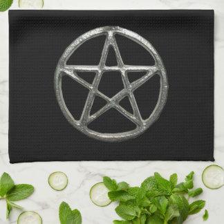 Pentagramm-Küchen-Tuch Küchenhandtücher