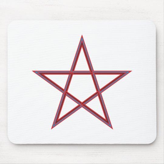 Pentagramm pentagram mauspad