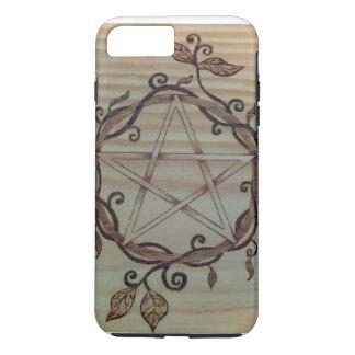 Pentagramm-Telefon-Kasten iPhone 8 Plus/7 Plus Hülle