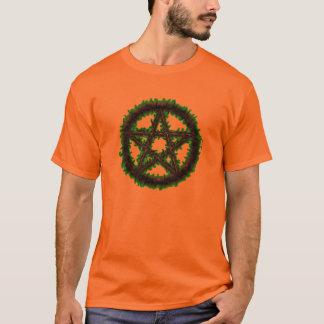 Pentagramm von Erde T-Shirt
