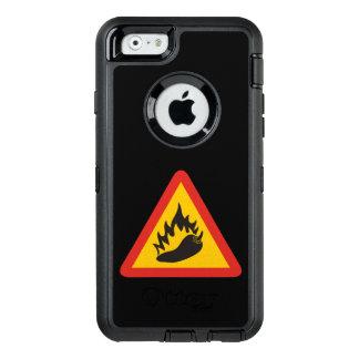 Peperonigefahrenzeichen OtterBox iPhone 6/6s Hülle