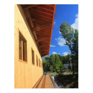 Pepperell MA neuer Brücken-Gehweg Postkarte
