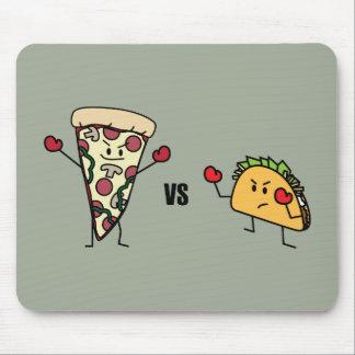 Pepperoni-Pizza GEGEN Taco: Mexikaner gegen Mousepad