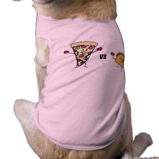 Pepperoni-Pizza GEGEN Taco: Mexikaner gegen Shirt