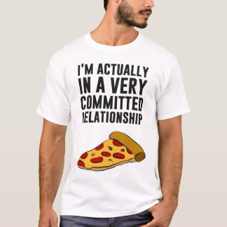Pepperoni-Pizza-Liebe - ein ernstes Verhältnis T-Shirt