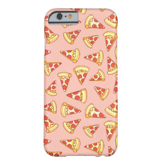 Pepperoni-Pizza-Scheibe, die Muster iPhone Fall Barely There iPhone 6 Hülle