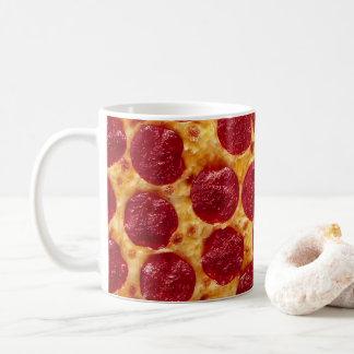 Pepperoni-Pizza-Tasse Kaffeetasse