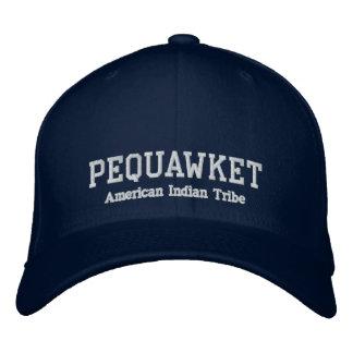 Pequawket Inder-Stamm Bestickte Baseballmütze