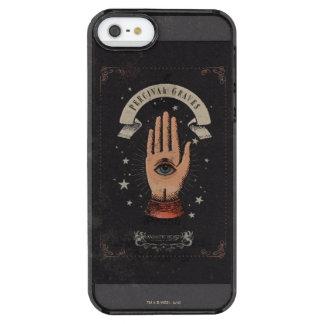 Percival-Grab-magische Handgraphik Durchsichtige iPhone SE/5/5s Hülle