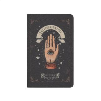 Percival-Grab-magische Handgraphik Taschennotizbuch