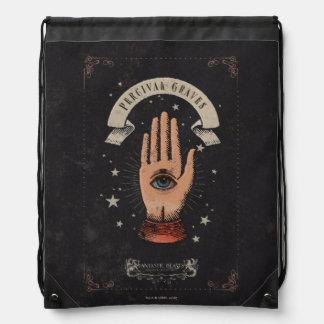Percival-Grab-magische Handgraphik Turnbeutel