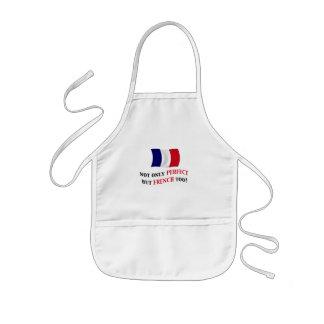 Perfekt und Franzosen Kinderschürze