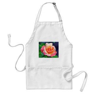 Perfekte Rose in der Blüte Schürze