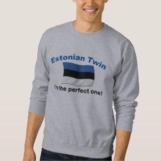 Perfekter estnischer Zwilling Sweatshirt
