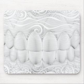 Perfekter weißer Zahn-Lächeln-Zahnarzt Mousepad