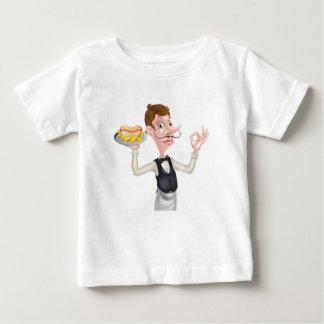 Perfekter Würstchen-Kellner Baby T-shirt