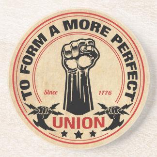 Perfektere Gewerkschaft 1016 Getränkeuntersetzer