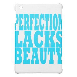 Perfektion ermangelt Schönheit iPad Mini Hülle