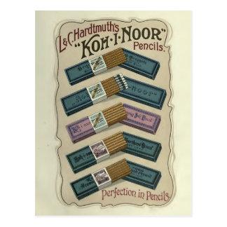 Perfektion in Bleistifte KOH-ICh-Noor Postkarte
