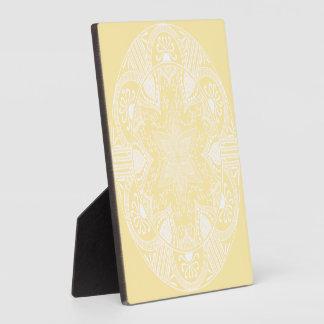 Pergament-Mandala Fotoplatte