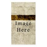 Pergamentpapier Vintager Gips-beige TANs Brown Visitenkarte