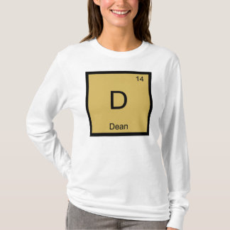 Periodensystem Dekan-Name Chemistry Element T-Shirt