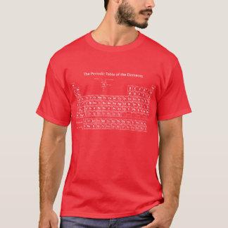 Periodensystem der Elemente - Weiß T-Shirt