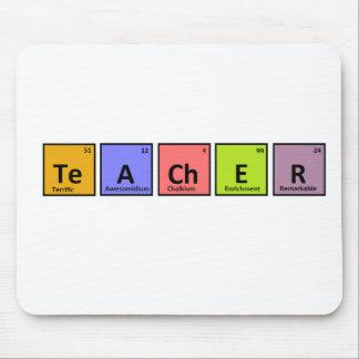 Periodensystem-Lehrer-Anerkennung Mousepad