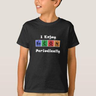 Periodensystem-Speck-Wissenschafts-Chemie lustig T-Shirt