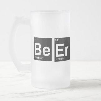 Periodische Redewendungen: Seien Sie äh Mattglas Bierglas