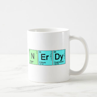 Periodischer Nerd Kaffeetasse