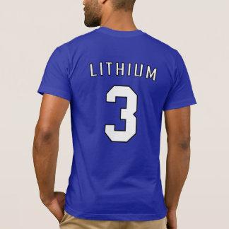 Periodisches Team-Shirt: Lithium T-Shirt