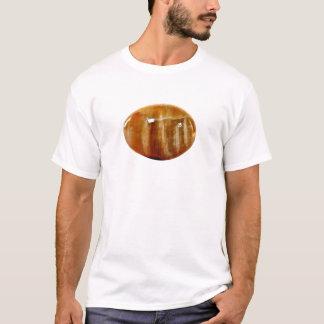 Peripherys 6 stumpfes orange Weiß T-Shirt