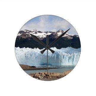 Perito Moreno Gletscher, Argentinien Runde Wanduhr