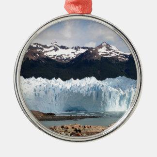 Perito Moreno Gletscher, Argentinien Silbernes Ornament