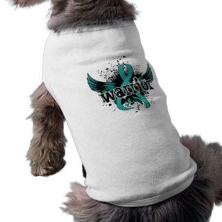 Peritonealer Krebs des Kriegers-16 Ärmelfreies Hunde-Shirt