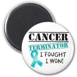 Peritoneales Krebs-Abschlussprogramm Runder Magnet 5,1 Cm