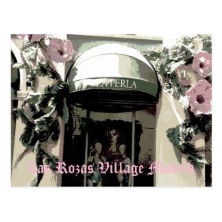 Perla in Rozas Village von Madrid ,(Spanien) Postkarte