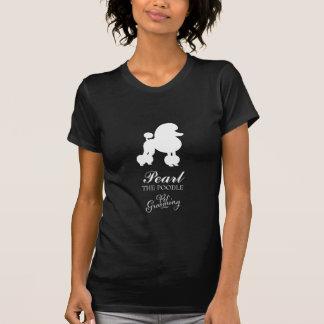 Perle 311 das Pudel-Haustier-Pflegen T-Shirt