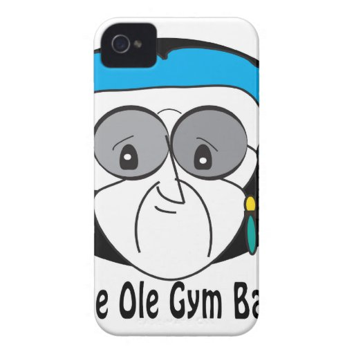Perle, die alte Turnhallen-Tasche iPhone 4 Case-Mate Hüllen