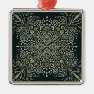 Perle Jewels Mandala Silbernes Ornament