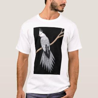 Perlegescheckter Cockatiel-Papageien-T - Shirt