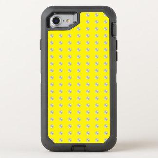 Perlen auf Gelb OtterBox Defender iPhone 8/7 Hülle