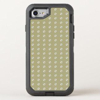 Perlen auf heller Taupefarbe OtterBox Defender iPhone 8/7 Hülle
