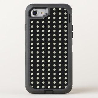 Perlen auf Schwarzem OtterBox Defender iPhone 8/7 Hülle