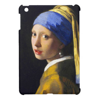 Perlen-Ohrring ~ Vermeer des Mädchen-w iPad Mini Cover