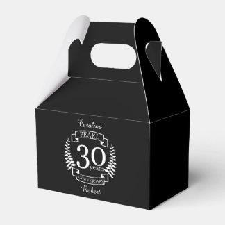 Perlen Sie 30. Hochzeitstag 30 Jahre Geschenkschachtel