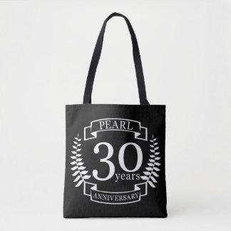 Perlen Sie 30. Hochzeitstag 30 Jahre Tasche