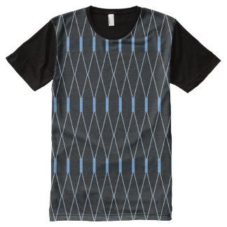 Perlen-Webart T-Shirt Mit Komplett Bedruckbarer Vorderseite